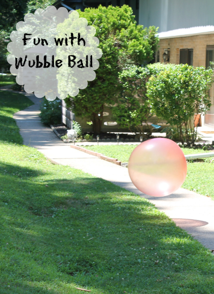 fun with Wubble Ball
