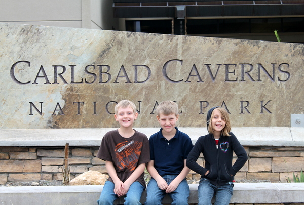 carlsbad caverns nm with kids