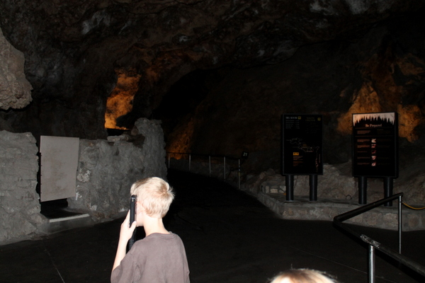 Carlsbad Caverns audio wands