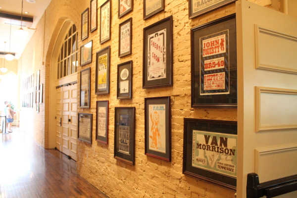 Ryman Auditorium signed posters