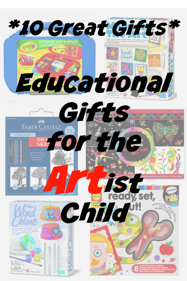 10 great educational gift ideas for kids with Art