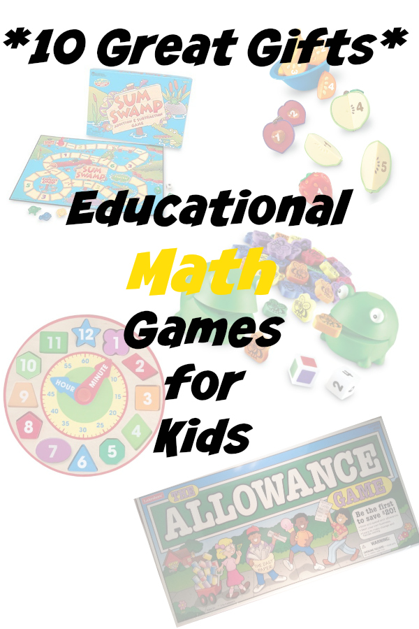 10 great educational gifts for kids learning math
