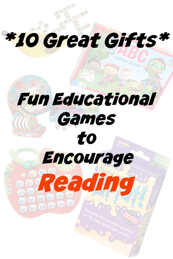 Educational Gifts for Kids to encourage reading