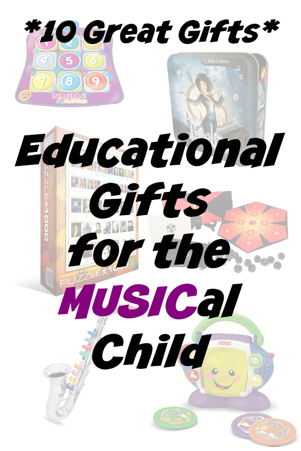 10 great educational gifts for kids that encourage a love for music | Heather at www.noclassroomwalls.com