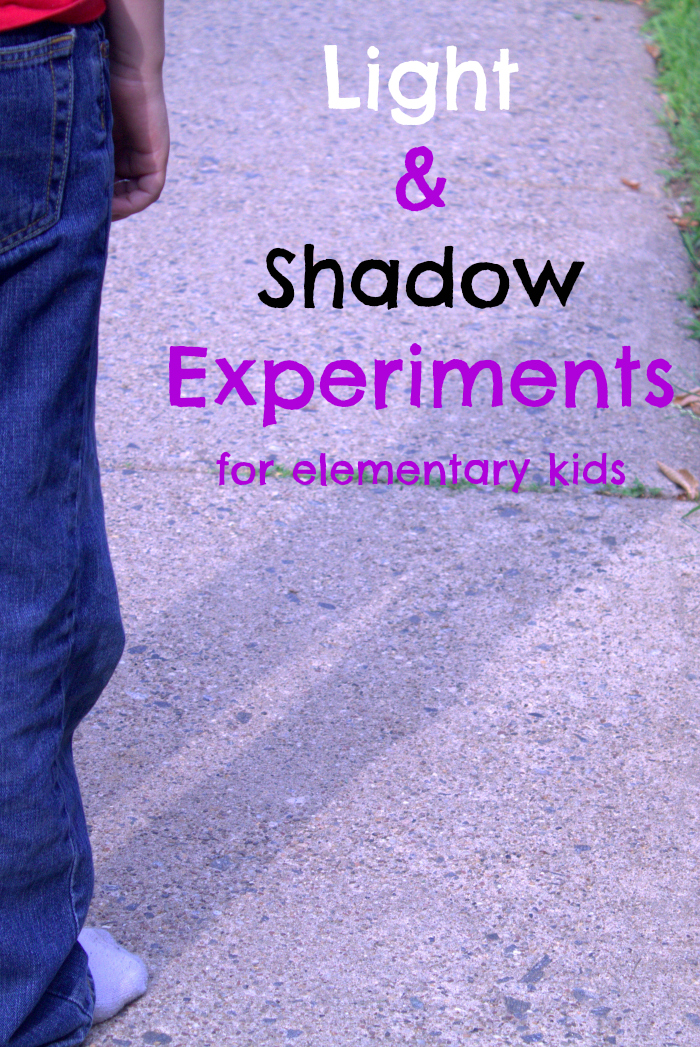 Light and Shadow - fun science experiments for kids that give educational enrichment - No Classroom Walls