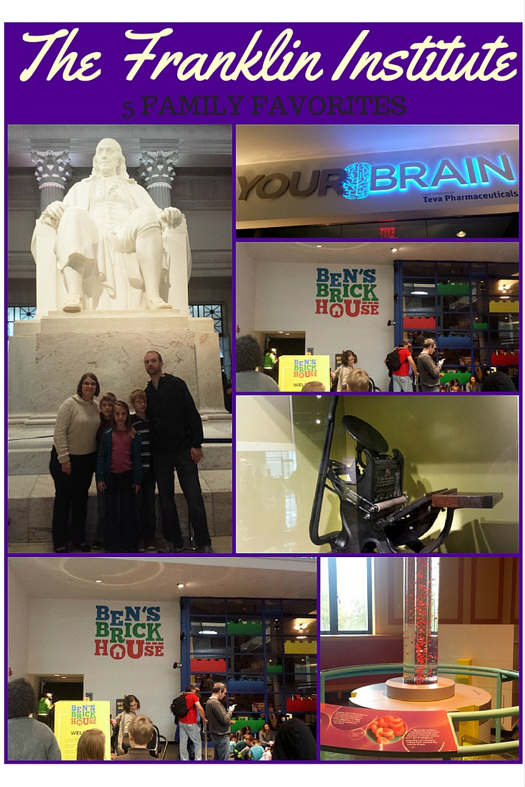 The Franklin Institute is full of great science learning experiences, educational enrichment and activities